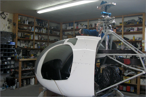 The Copter Barn